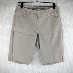 The Limited Tan Bermuda Shorts Size 6